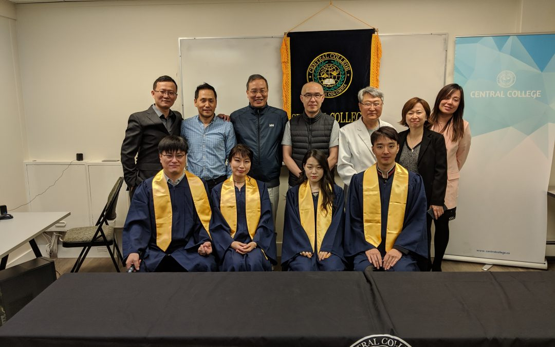 Congratulation Central College Class of 2019 Graduates !!